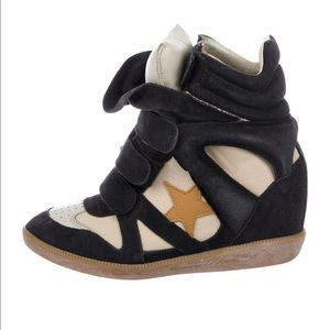 Authentic Isabel Marant Wedge Sneakers